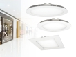 ROUNDA LED and KATRO LED in white - new downlight fixtures offered by Kanlux