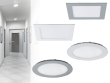 KATRO LED and ROUNDA LED- new downlight fixture models in the KANLUX offer